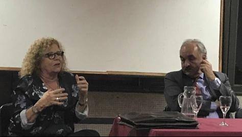 Profesora Gladys Lechini y  Sherpa Pedro Villagra Delgado